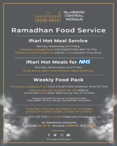 Ramadan Food Service Info